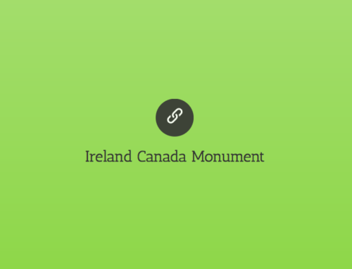 2018 | Ireland Canada Monument