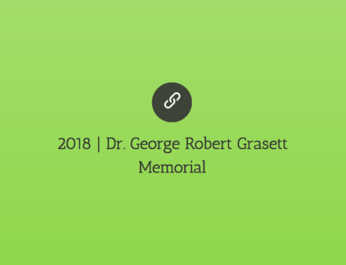 2018 | Dr. George Robert Grasett Memorial