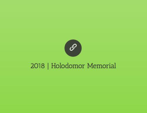 2018 | Holodomor Memorial